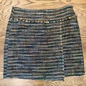 🆕 LOFT tweed mini skirt size 10